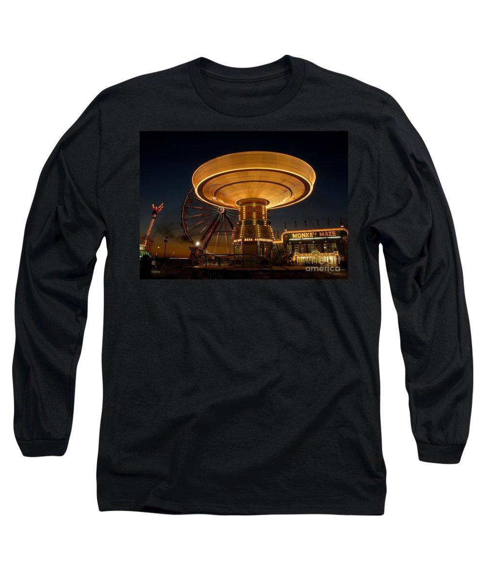 Fair Long Sleeve T-Shirt featuring the photograph A Night At The Fair by David Lee Thompson