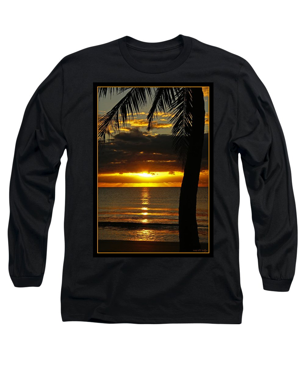 Landscape Long Sleeve T-Shirt featuring the photograph A Touch Of Paradise by Holly Kempe