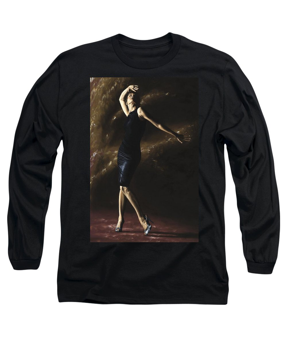 Dance Long Sleeve T-Shirt featuring the painting After The Dance by Richard Young