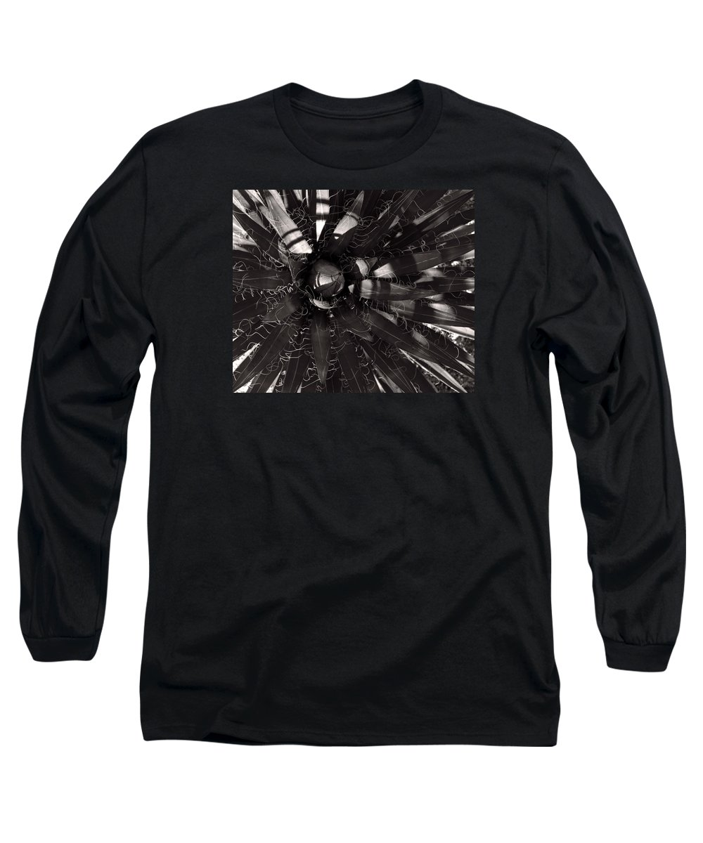 Agave Long Sleeve T-Shirt featuring the photograph Agave by Steve Bisgrove