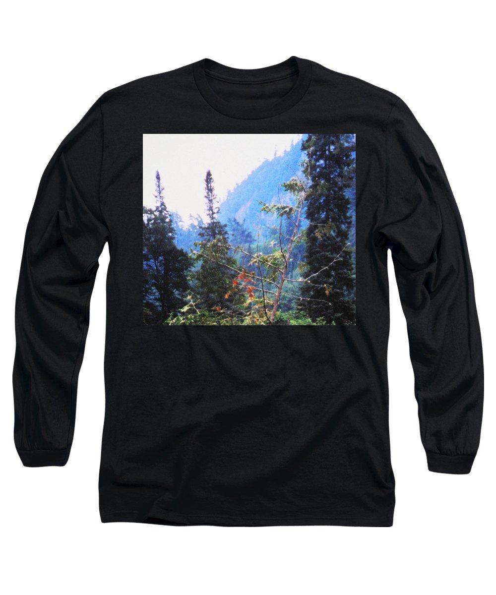 Agawa Long Sleeve T-Shirt featuring the photograph Agawa Canyon by Ian MacDonald