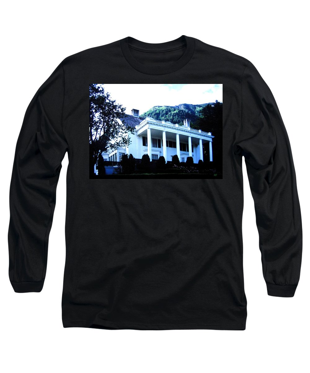 Alaska Long Sleeve T-Shirt featuring the photograph Alaska Governors Mansion by Will Borden