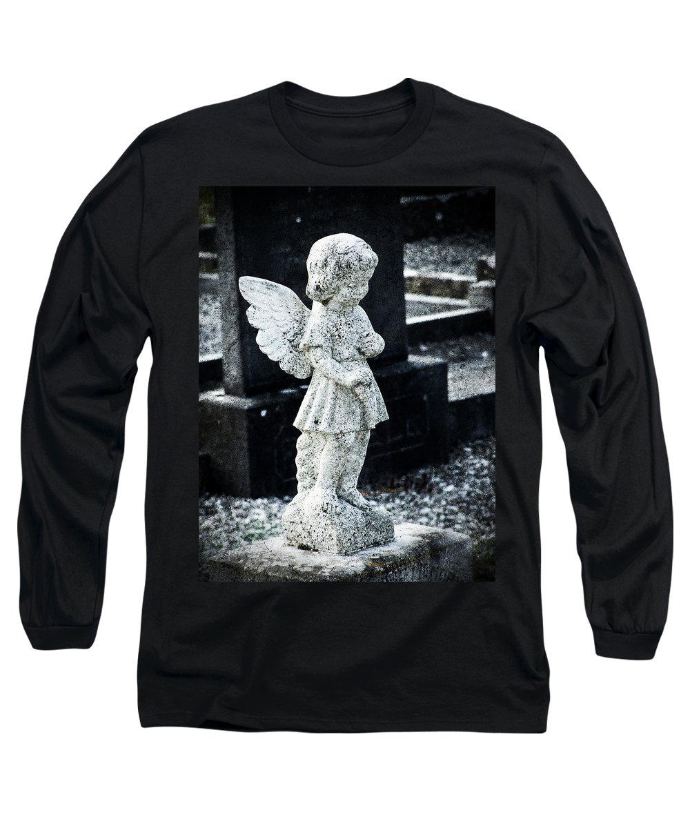 Ireland Long Sleeve T-Shirt featuring the photograph Angel In Roscommon No 3 by Teresa Mucha