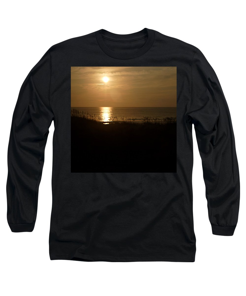 Color Long Sleeve T-Shirt featuring the photograph Another Day Ends by Jean Macaluso