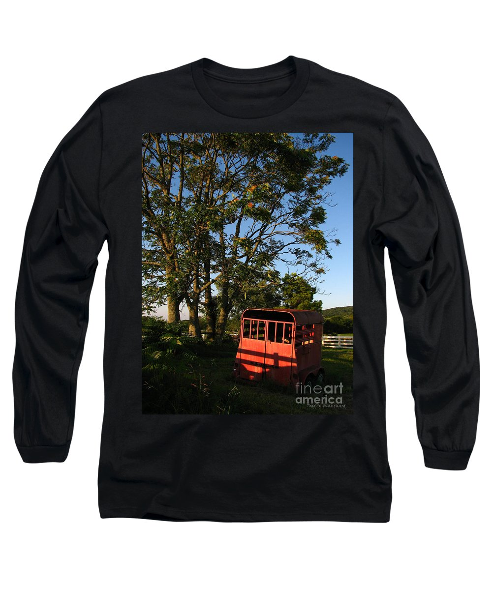 Landscape Long Sleeve T-Shirt featuring the photograph At Rest by Todd Blanchard