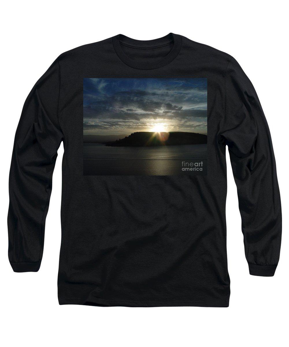 Black Butte Lake Long Sleeve T-Shirt featuring the photograph Black Butte Sunrise by Peter Piatt