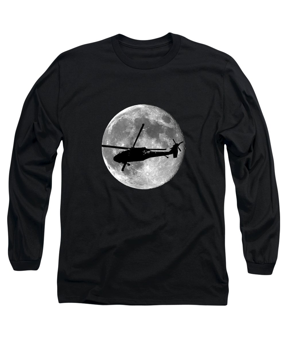 Helicopter Long Sleeve T-Shirts