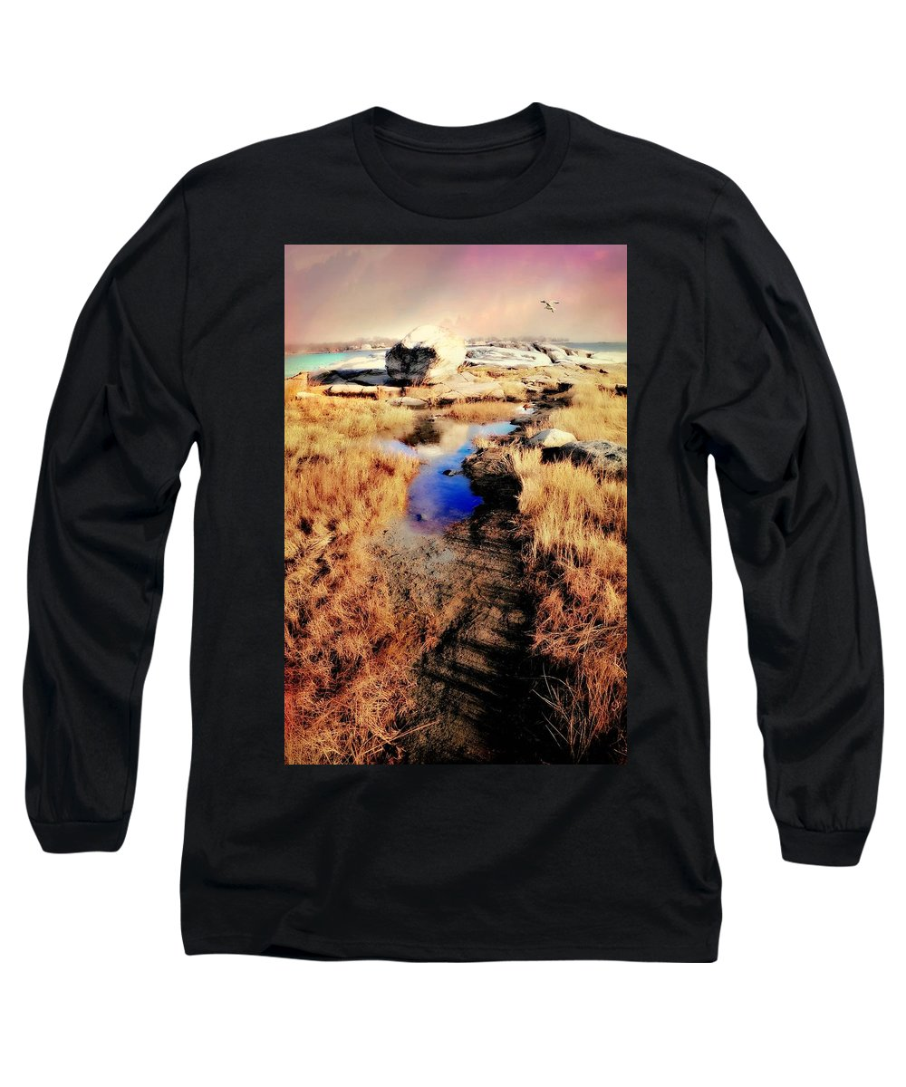 Fellows Of Thessea Long Sleeve T-Shirt featuring the photograph Borsisti Del Mare by Diana Angstadt