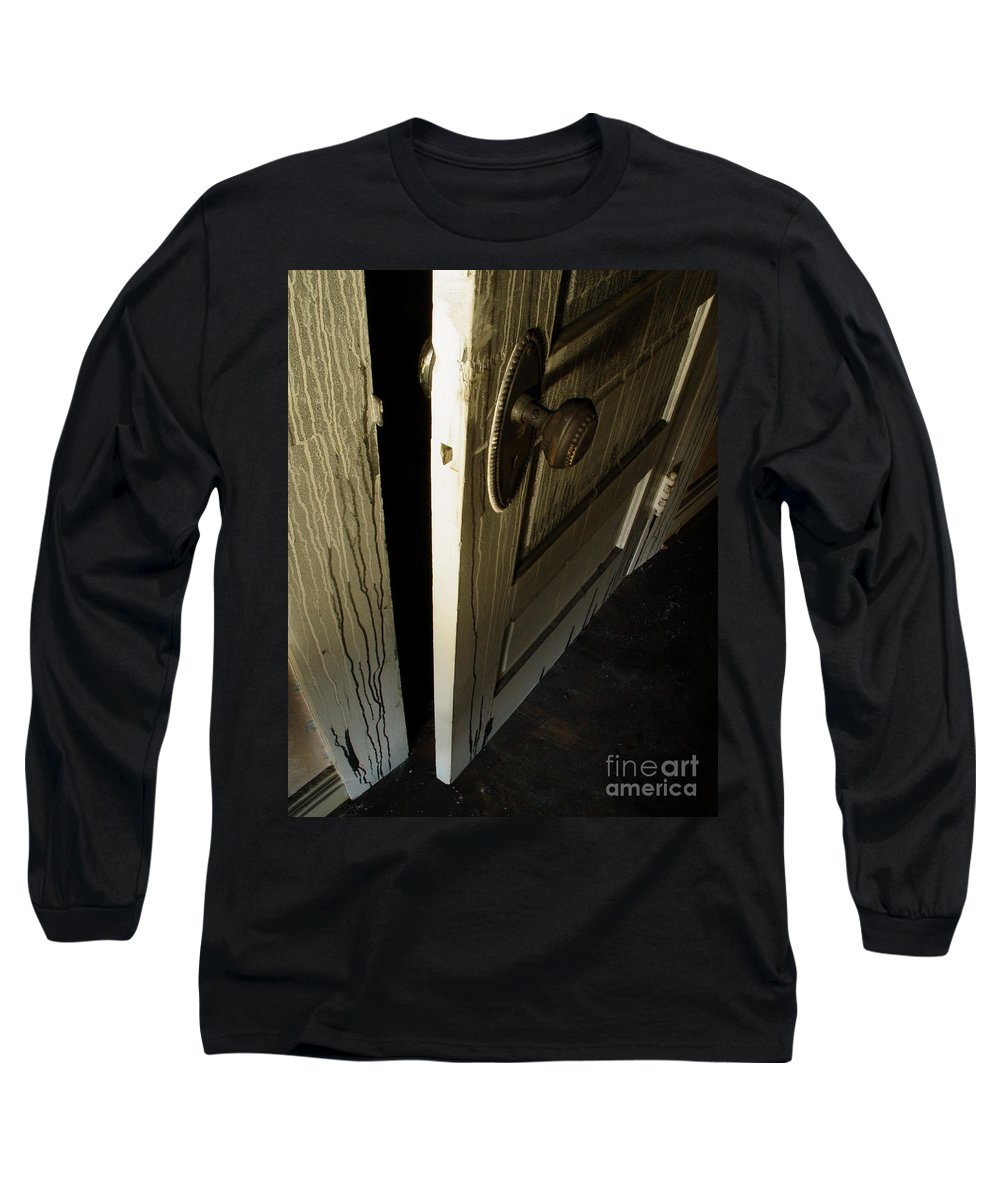 Ghostly Long Sleeve T-Shirt featuring the photograph Burned Knob 02 by Peter Piatt