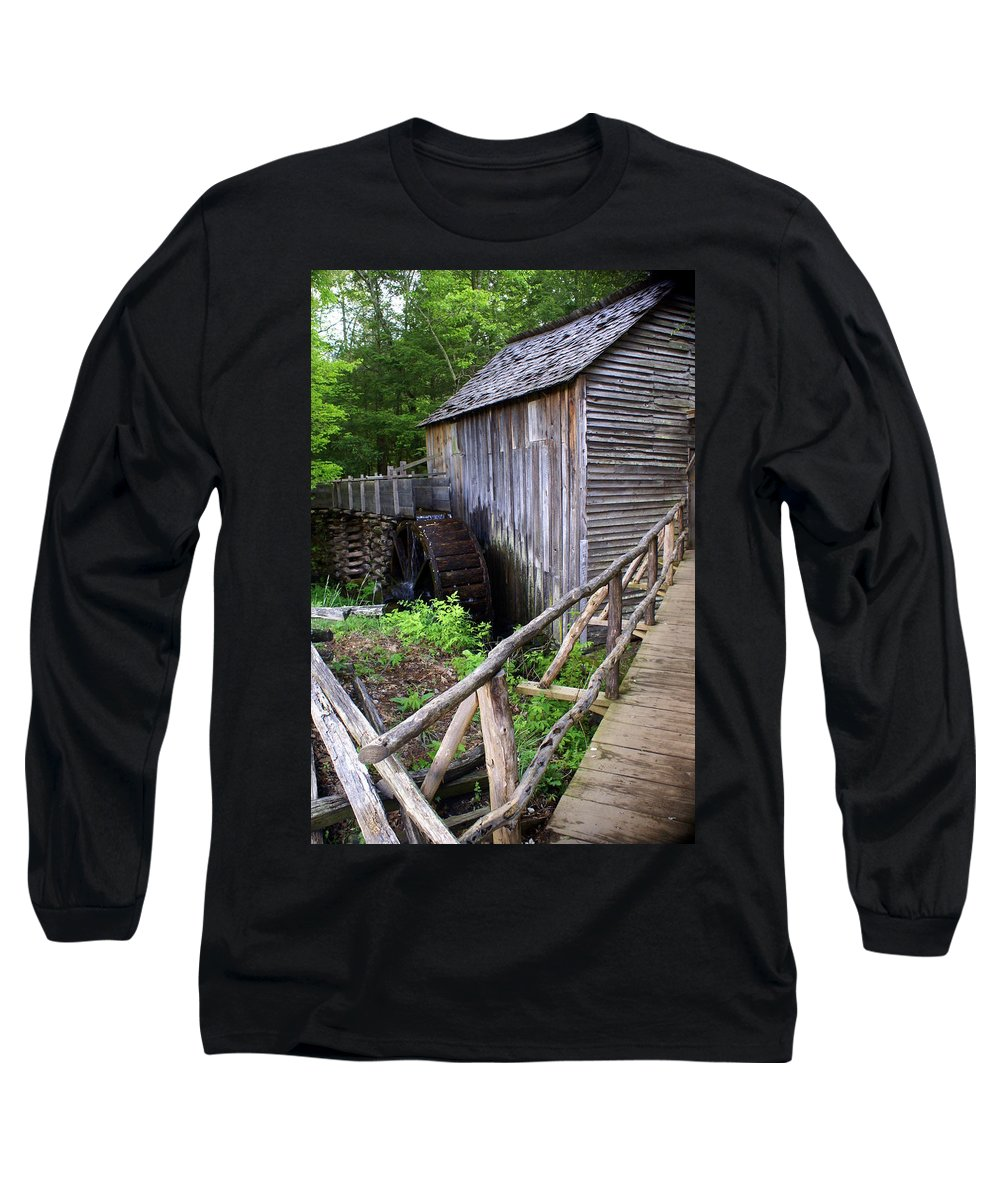 Cable Mill Long Sleeve T-Shirt featuring the photograph Cable Mill 3 by Marty Koch
