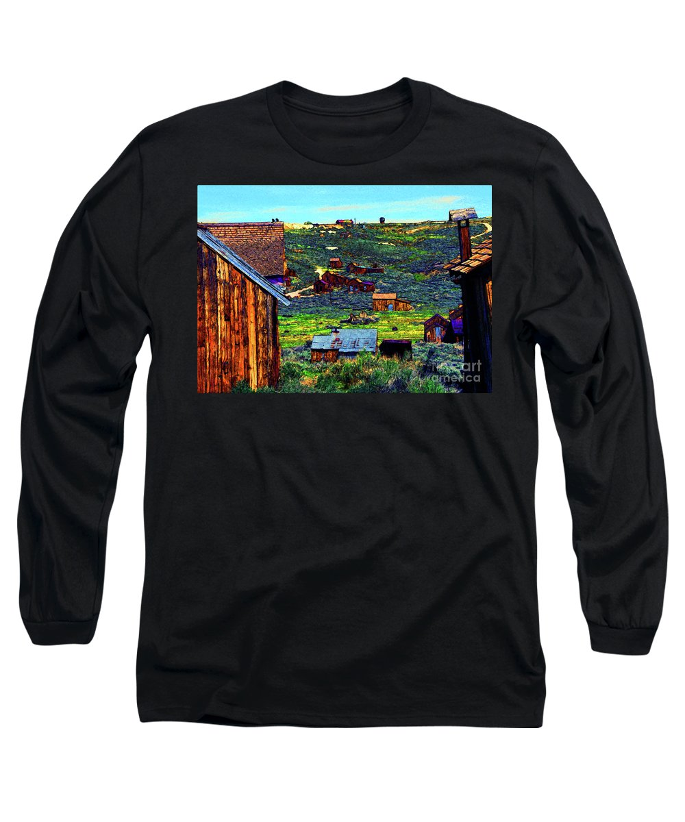 Bodie Ghost Town Long Sleeve T-Shirts