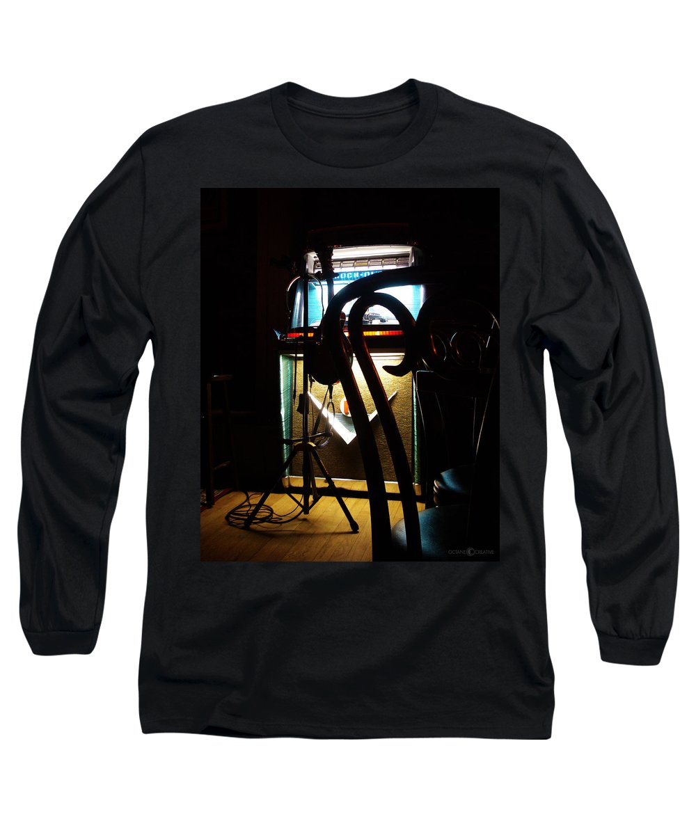 Music Long Sleeve T-Shirt featuring the photograph Canned Music by Tim Nyberg
