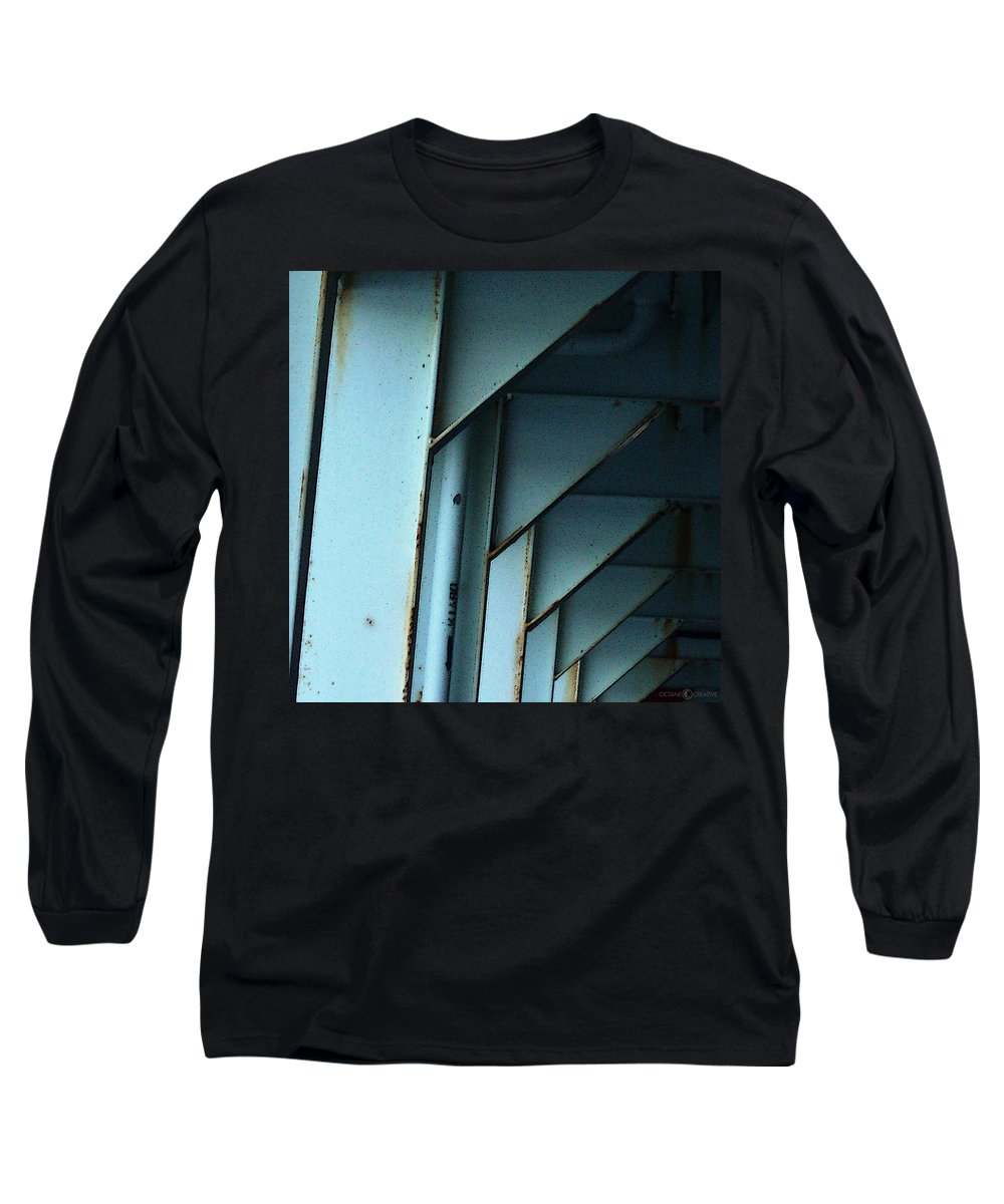 Ferry Long Sleeve T-Shirt featuring the photograph Car Ferry by Tim Nyberg