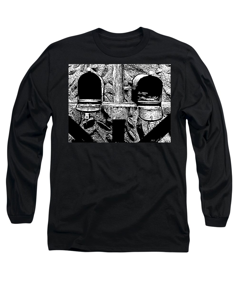 Mail Long Sleeve T-Shirt featuring the photograph Check Day by Albert Stewart