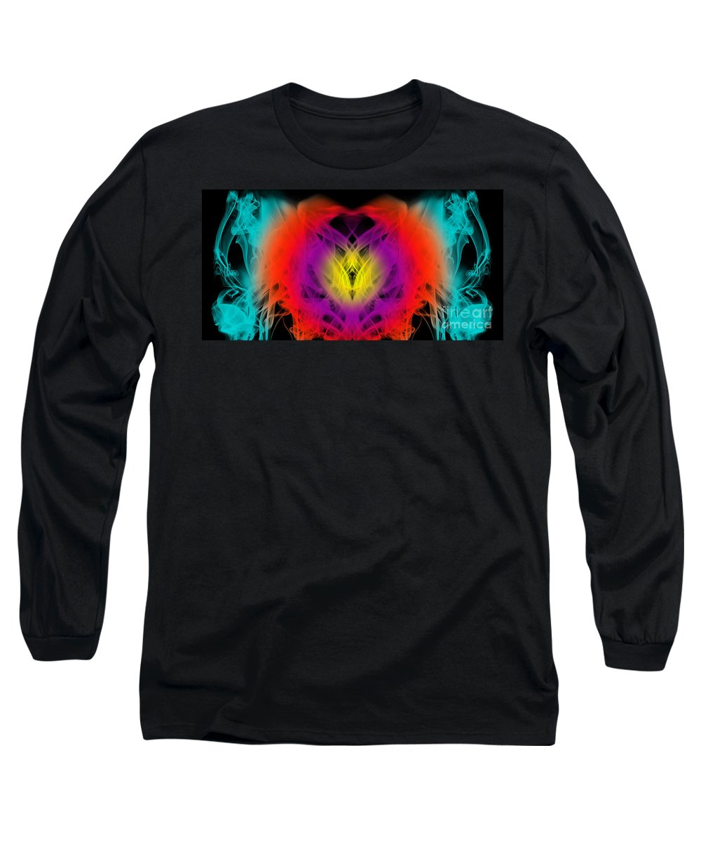 Clay Long Sleeve T-Shirt featuring the digital art Chi by Clayton Bruster