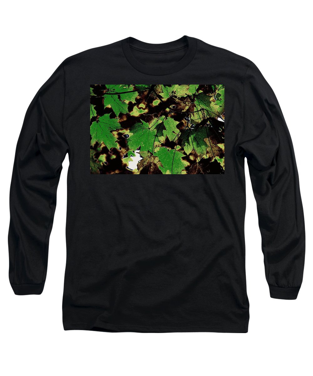 Landscape Long Sleeve T-Shirt featuring the photograph Chocolate Pudding by Ed Smith
