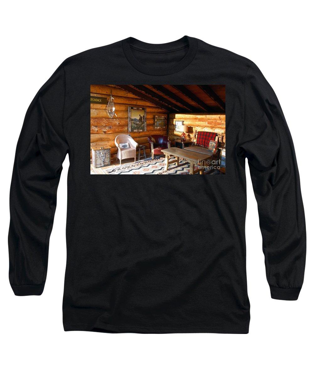 Adirondack Long Sleeve T-Shirt featuring the photograph Classic Adirondack by David Lee Thompson