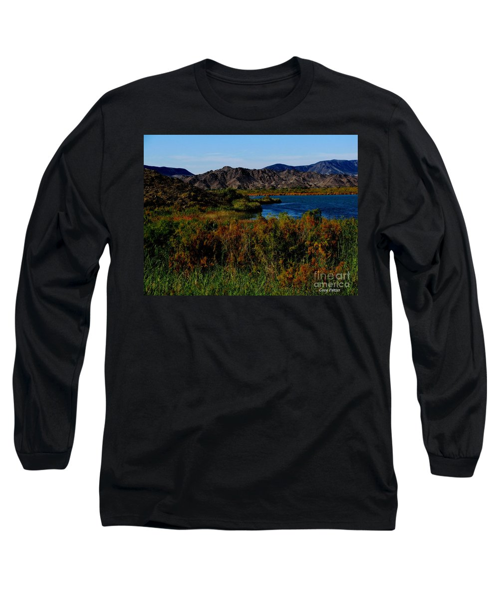 Patzer Long Sleeve T-Shirt featuring the photograph Colorado River by Greg Patzer