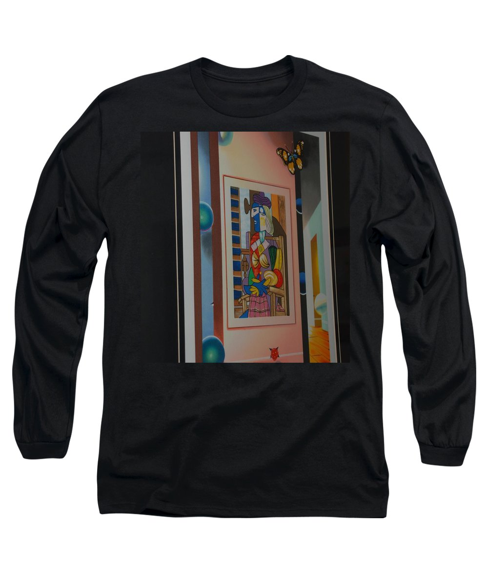 Colors Long Sleeve T-Shirt featuring the photograph Colors by Rob Hans