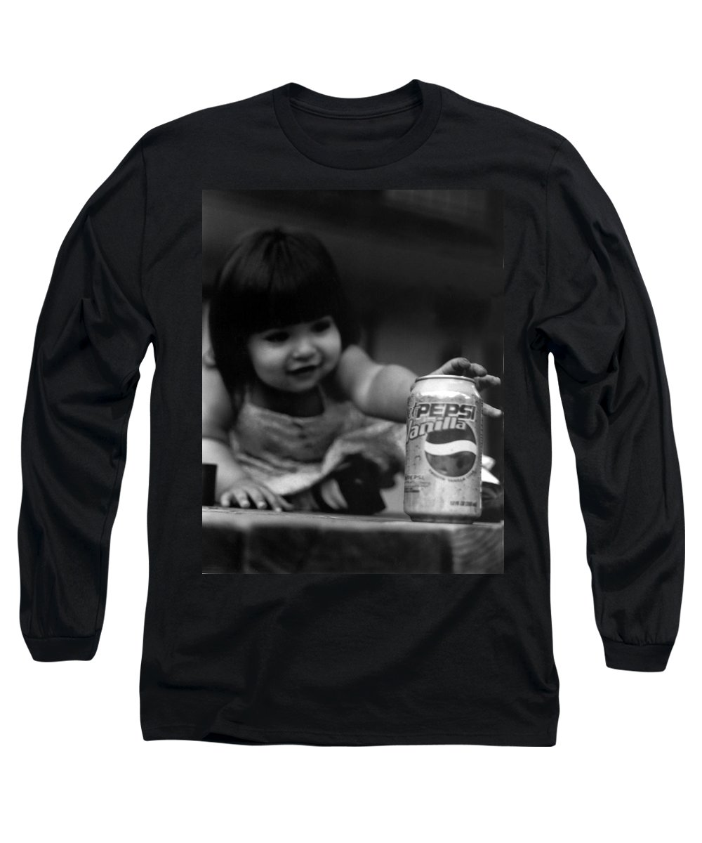 Dark Art Long Sleeve T-Shirt featuring the photograph Consumer by Peter Piatt