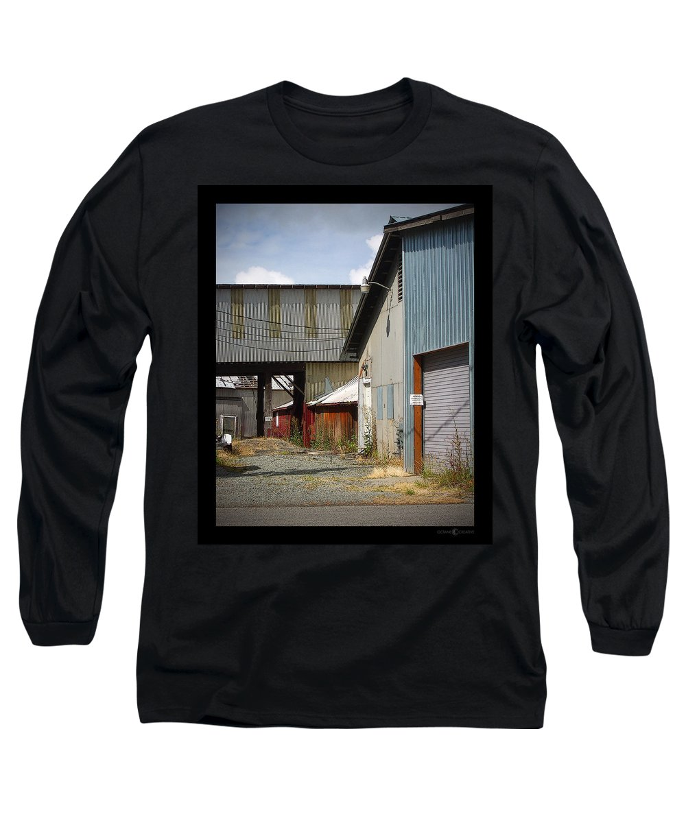 Corrugated Long Sleeve T-Shirt featuring the photograph Corrugated by Tim Nyberg