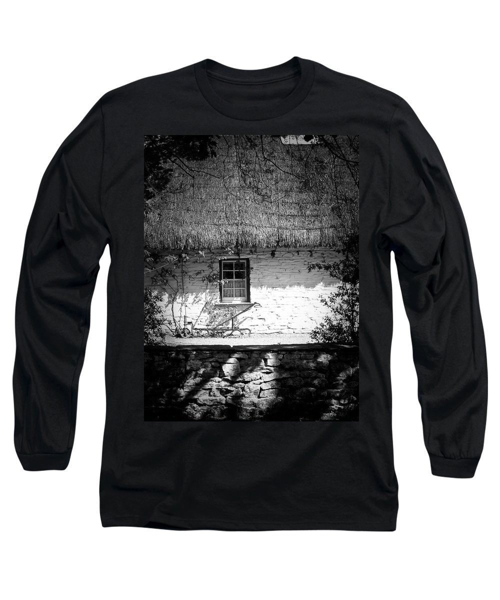 Irish Long Sleeve T-Shirt featuring the photograph County Clare Cottage Ireland by Teresa Mucha