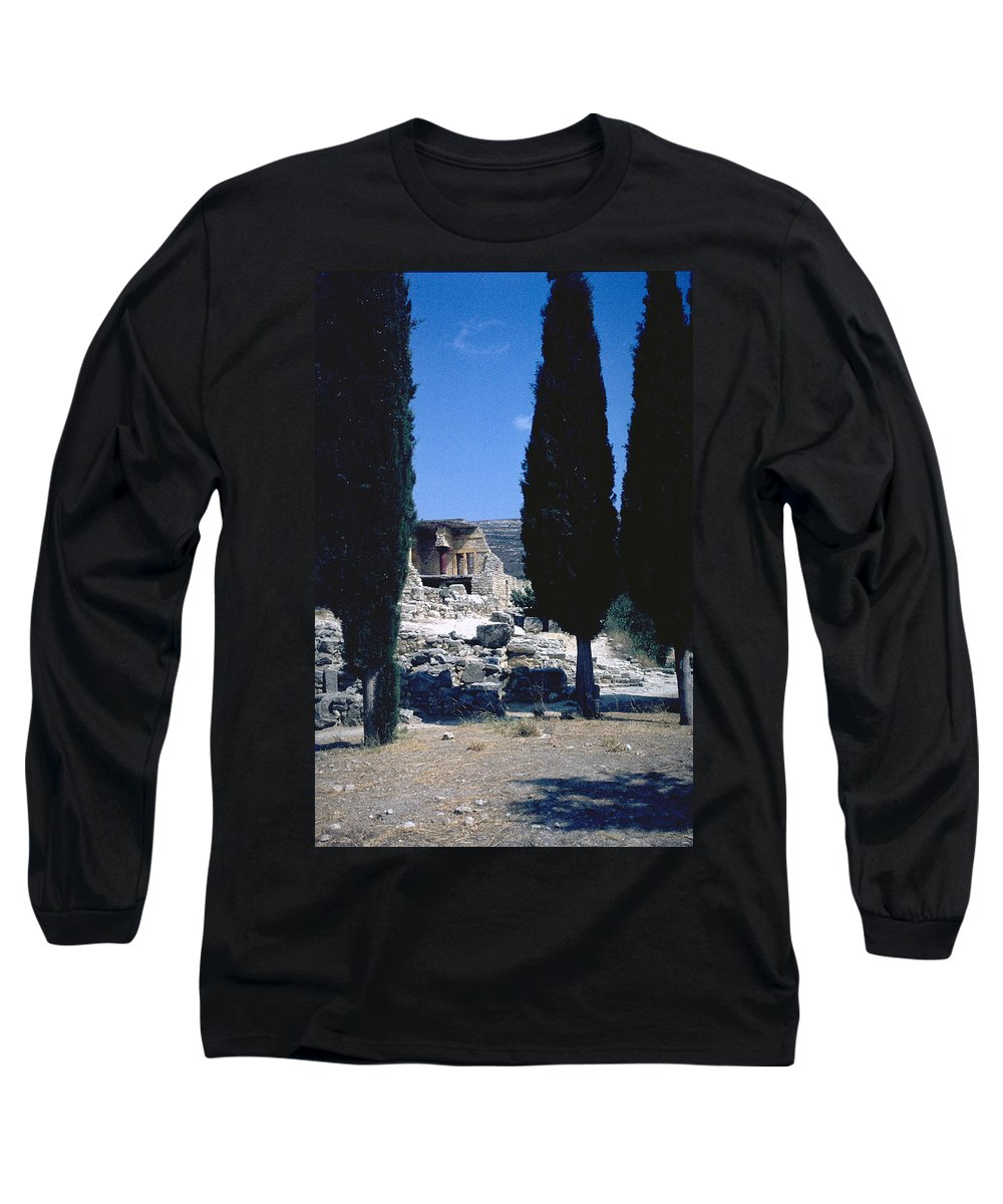 Crete Long Sleeve T-Shirt featuring the photograph Crete by Flavia Westerwelle