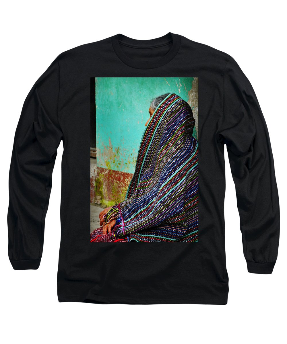 Skip Hunt Long Sleeve T-Shirt featuring the photograph Curandera by Skip Hunt