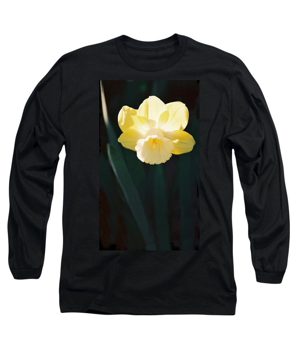 Daffodil Long Sleeve T-Shirt featuring the photograph Daffodil by Steve Karol