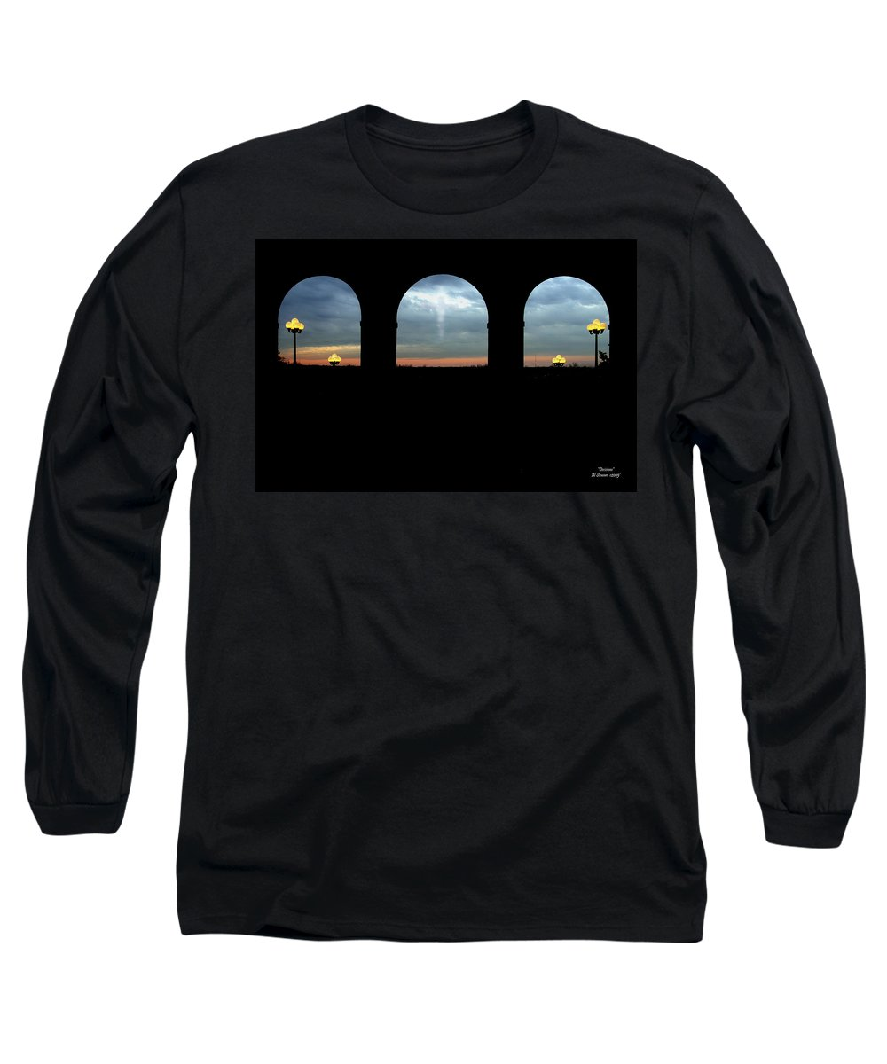 Arch Long Sleeve T-Shirt featuring the photograph Decisions by Albert Stewart