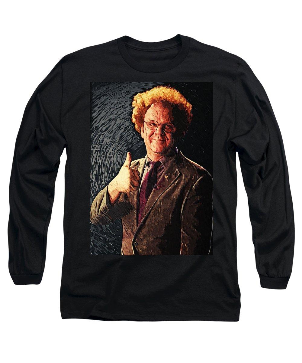 Dr. Steve Brule Long Sleeve T-Shirts