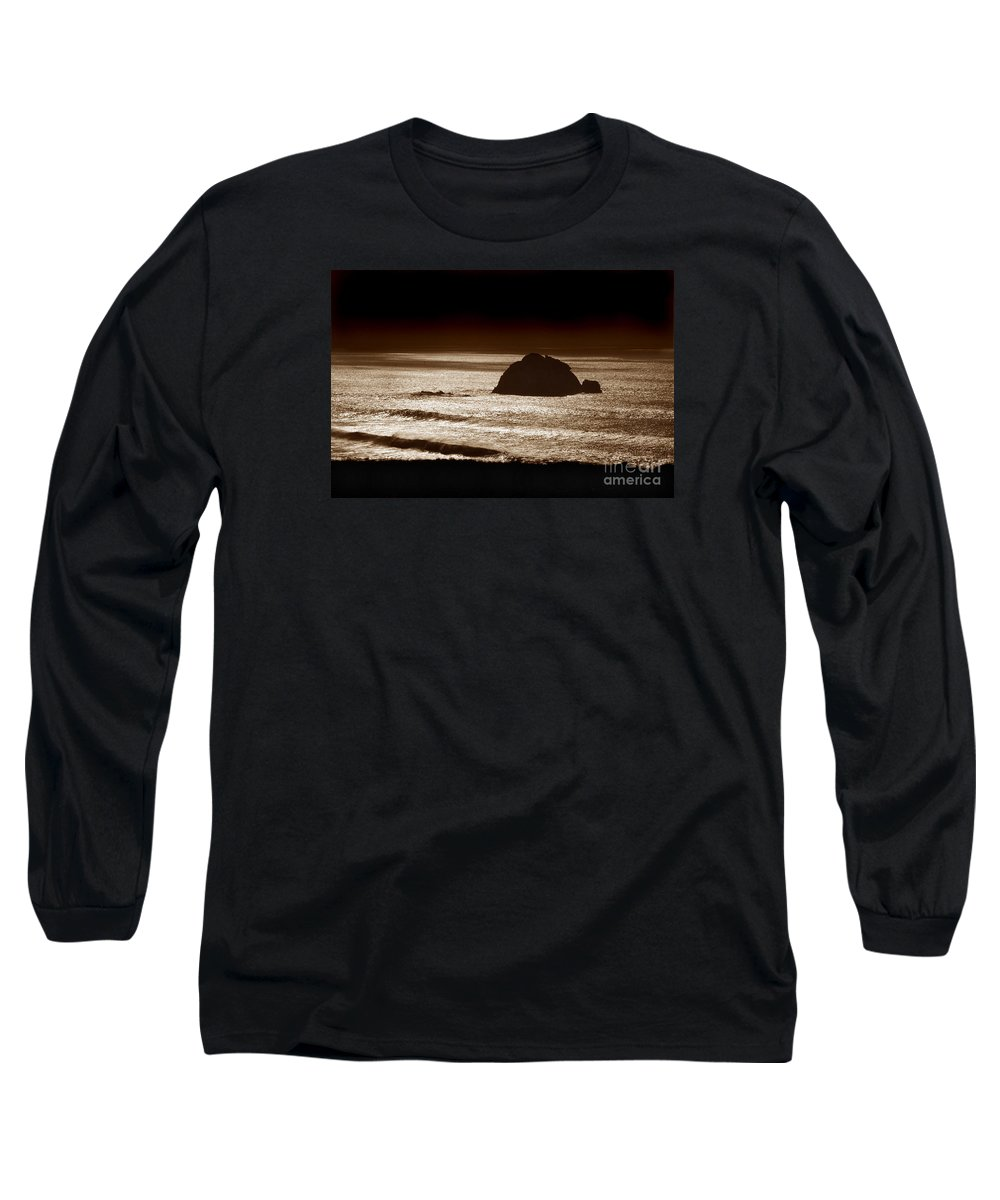 Big Sur Long Sleeve T-Shirt featuring the photograph Drama On Big Sur by Michael Ziegler