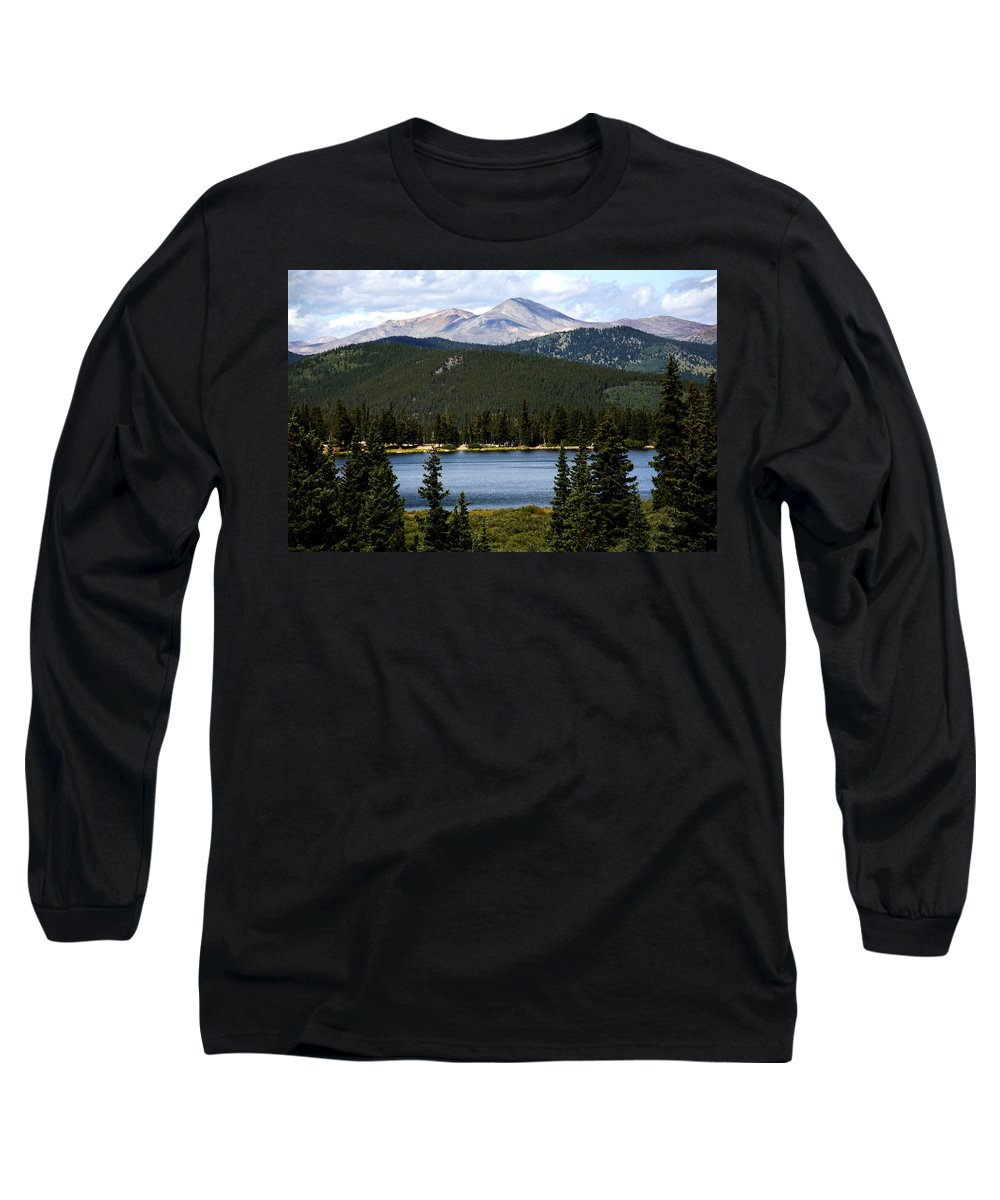 Colorado Long Sleeve T-Shirt featuring the photograph Echo Lake Colorado by Marilyn Hunt