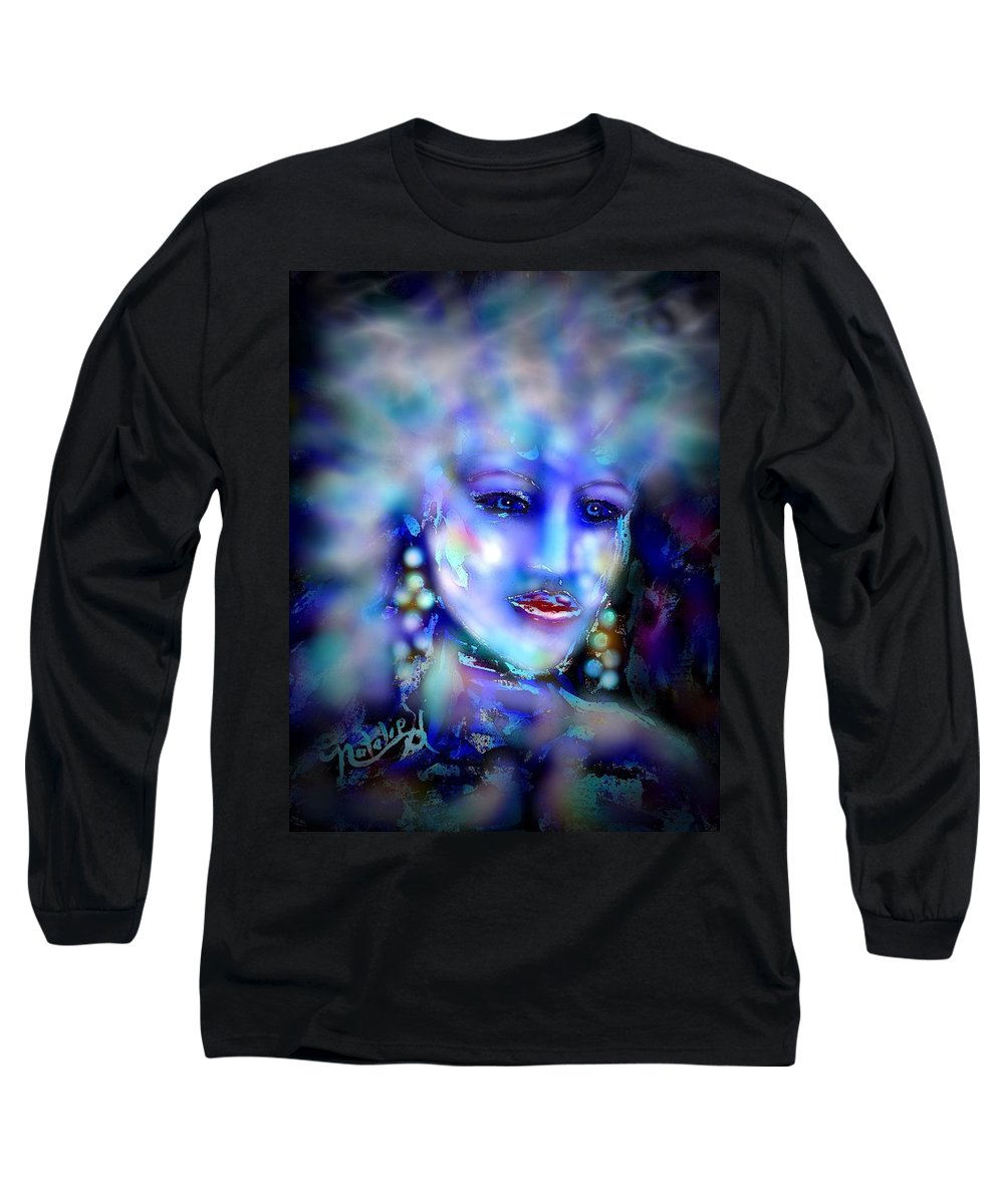 Woman Long Sleeve T-Shirt featuring the painting Electra by Natalie Holland