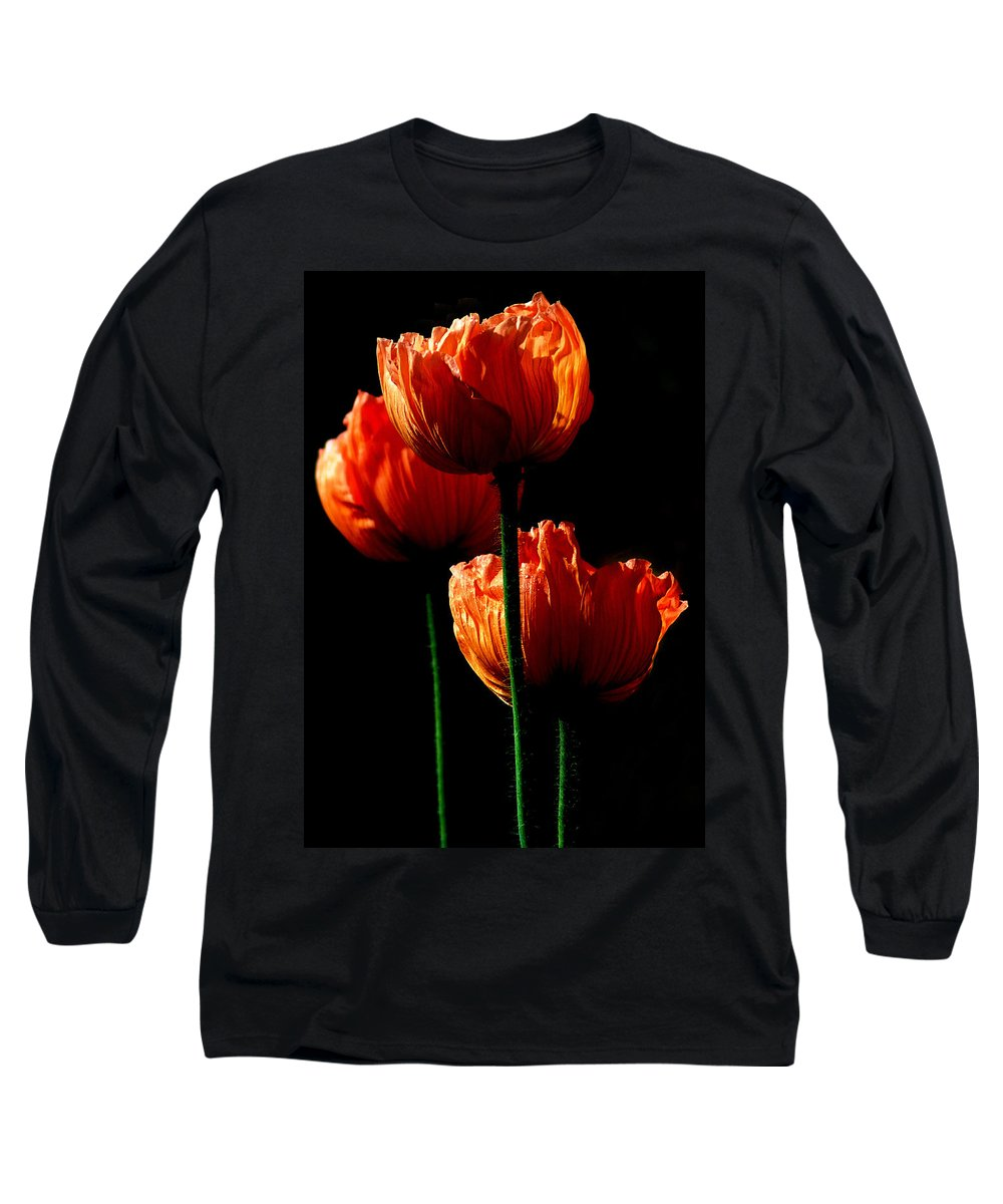 Photograph Long Sleeve T-Shirt featuring the photograph Elegance by Stephie Butler