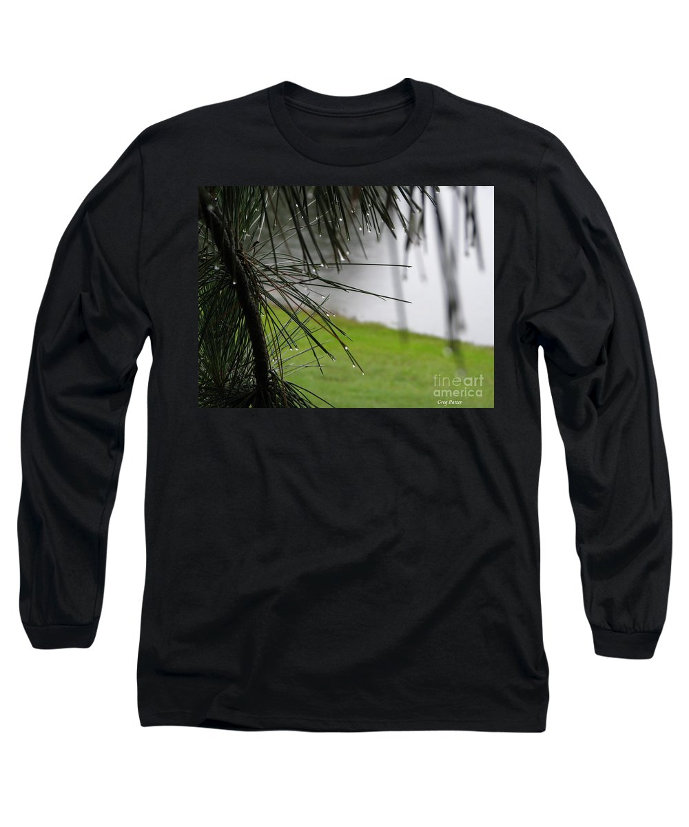 Lakes Long Sleeve T-Shirt featuring the photograph Elements by Greg Patzer