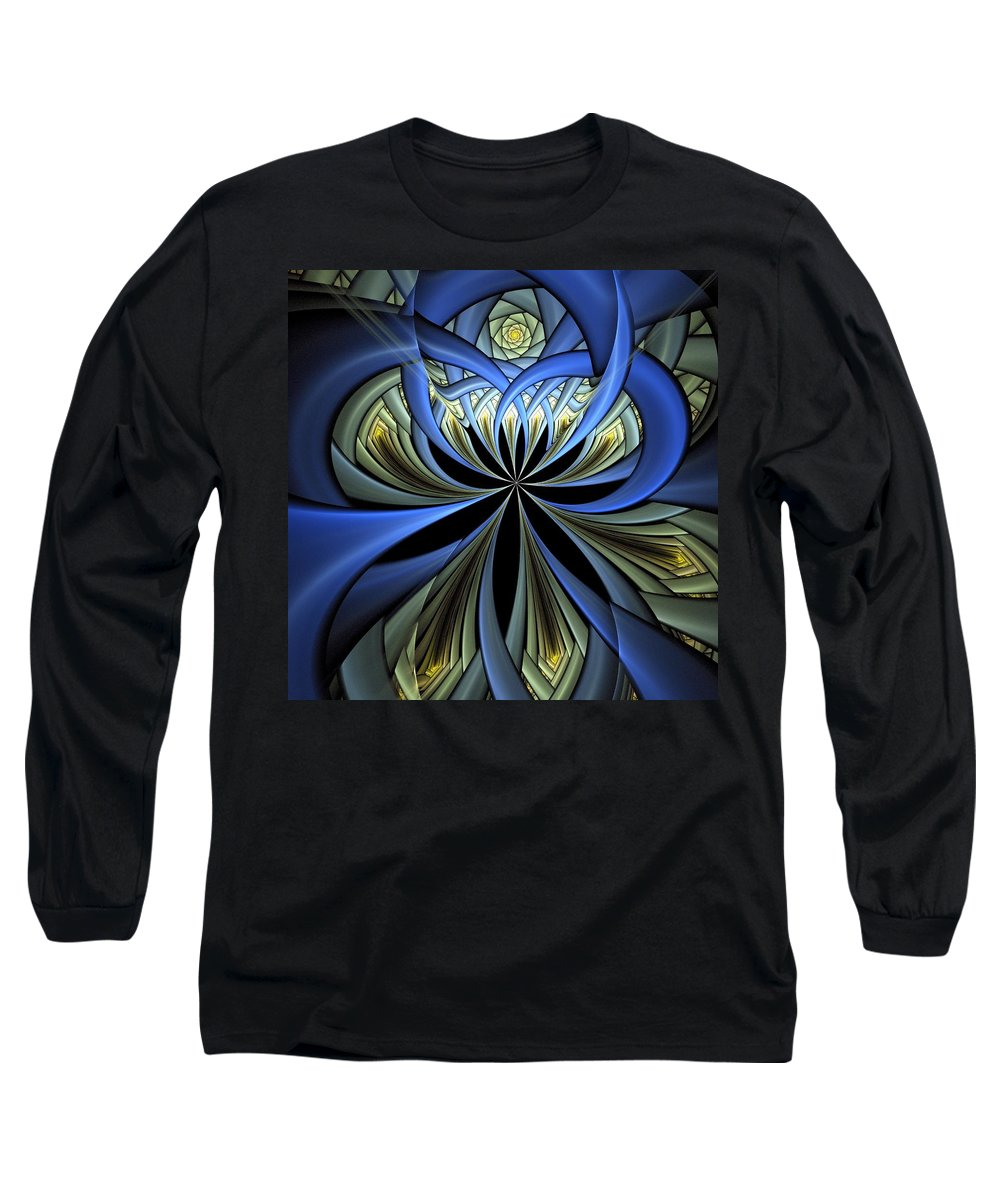 Digital Art Long Sleeve T-Shirt featuring the digital art Embedded by Amanda Moore