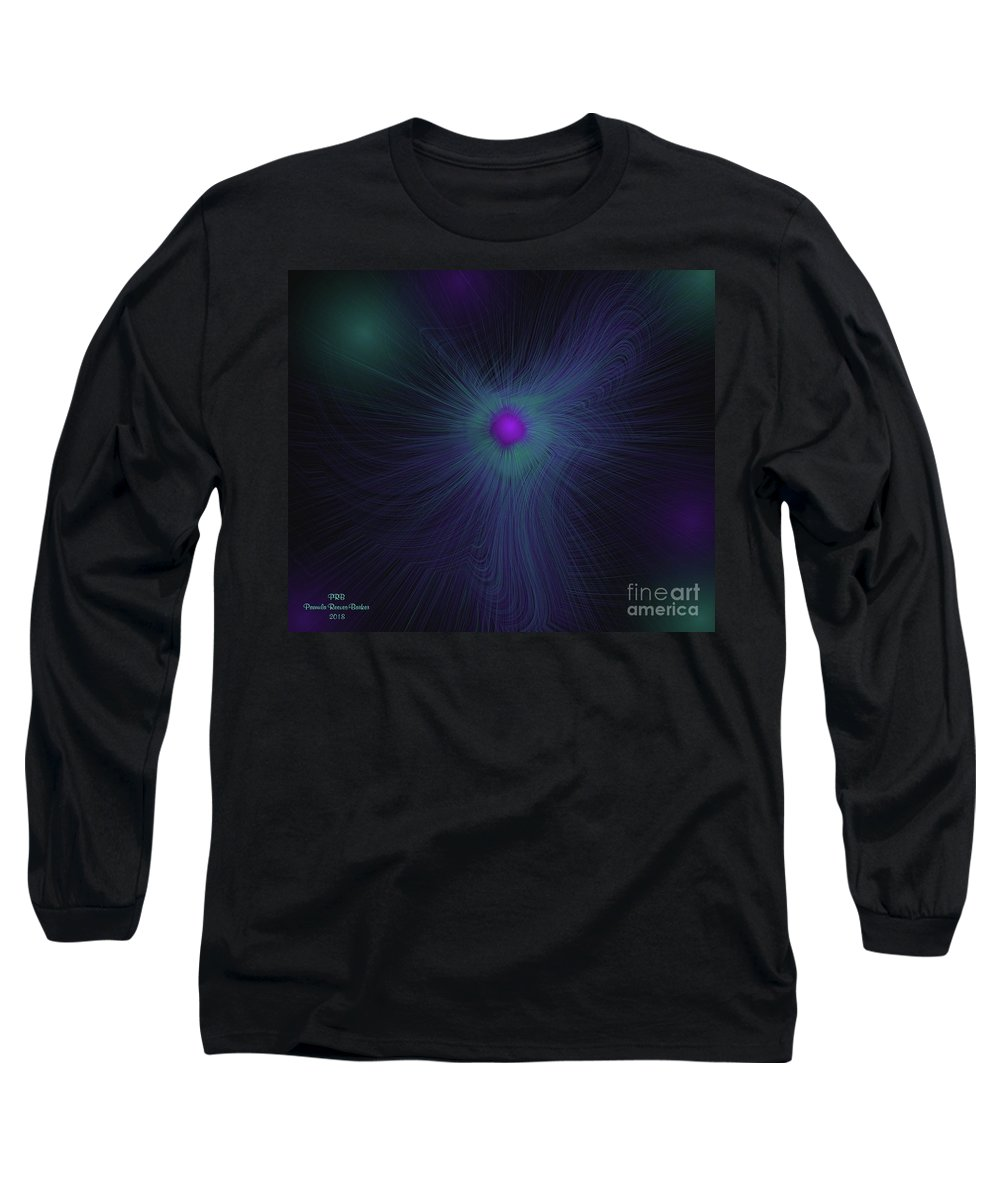 Essence Long Sleeve T-Shirt featuring the digital art Essence by Pamula Reeves-Barker