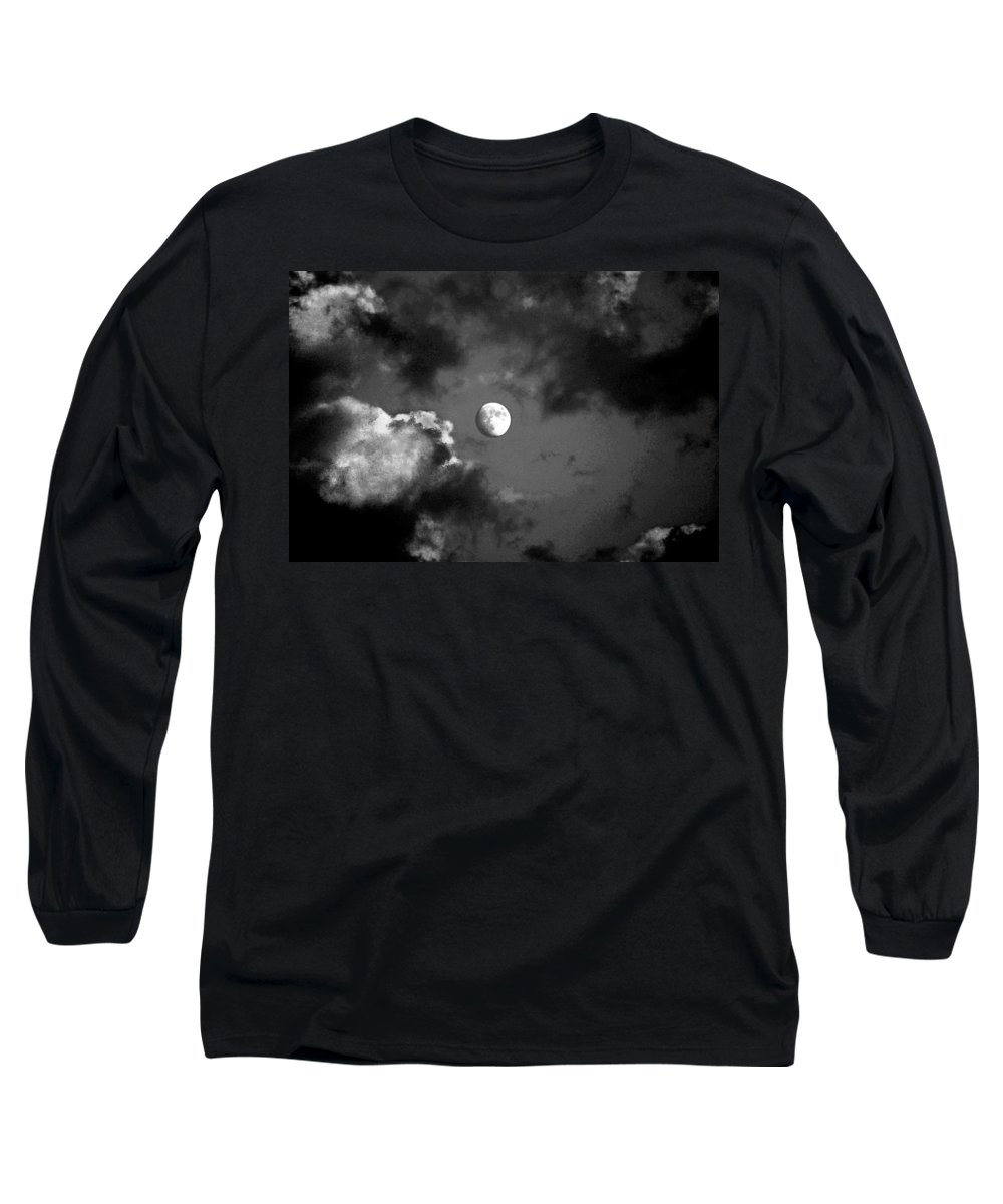 Sky Long Sleeve T-Shirt featuring the photograph Eye In The Sky by Steve Karol