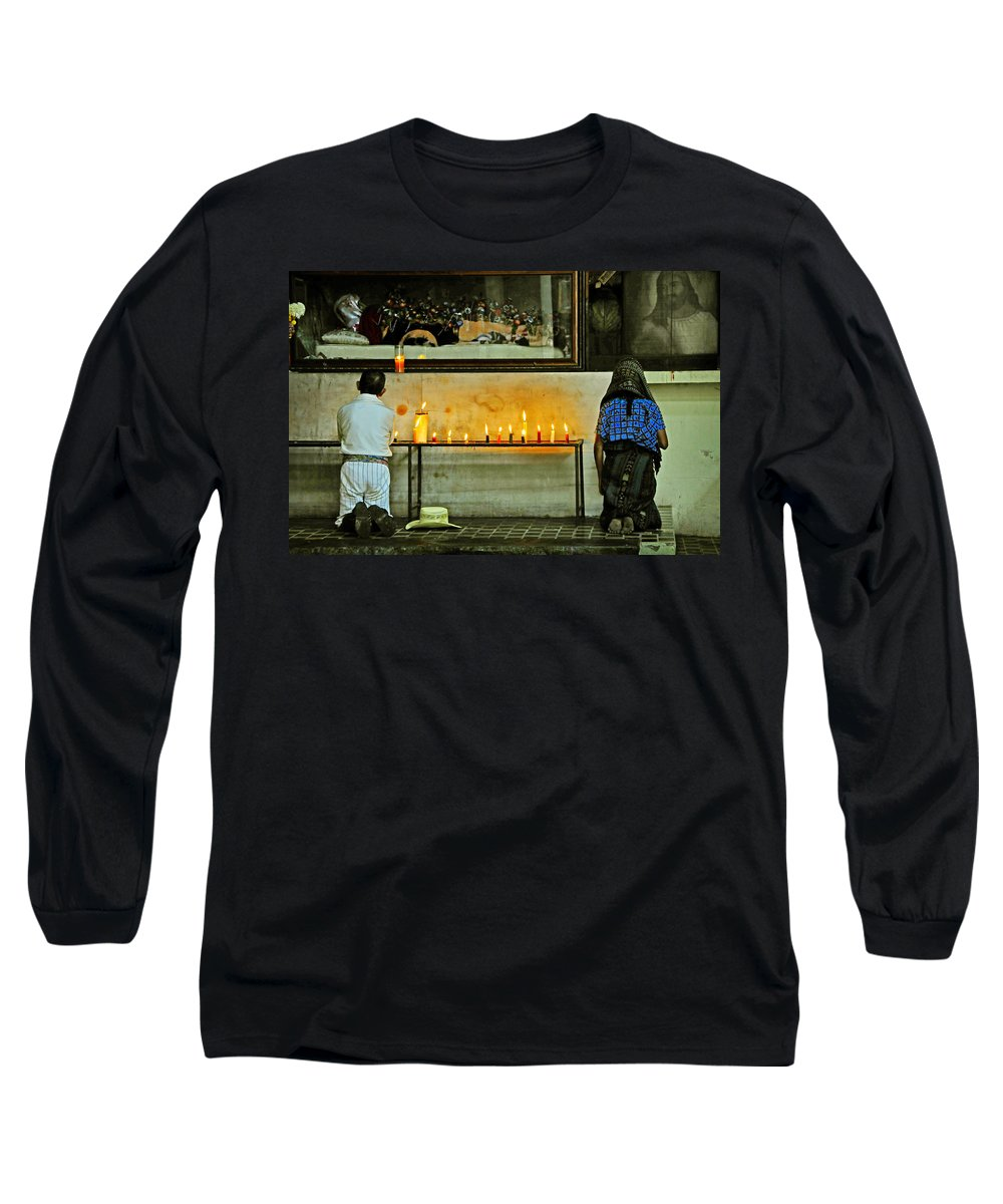Skip Hunt Long Sleeve T-Shirt featuring the photograph Faith by Skip Hunt