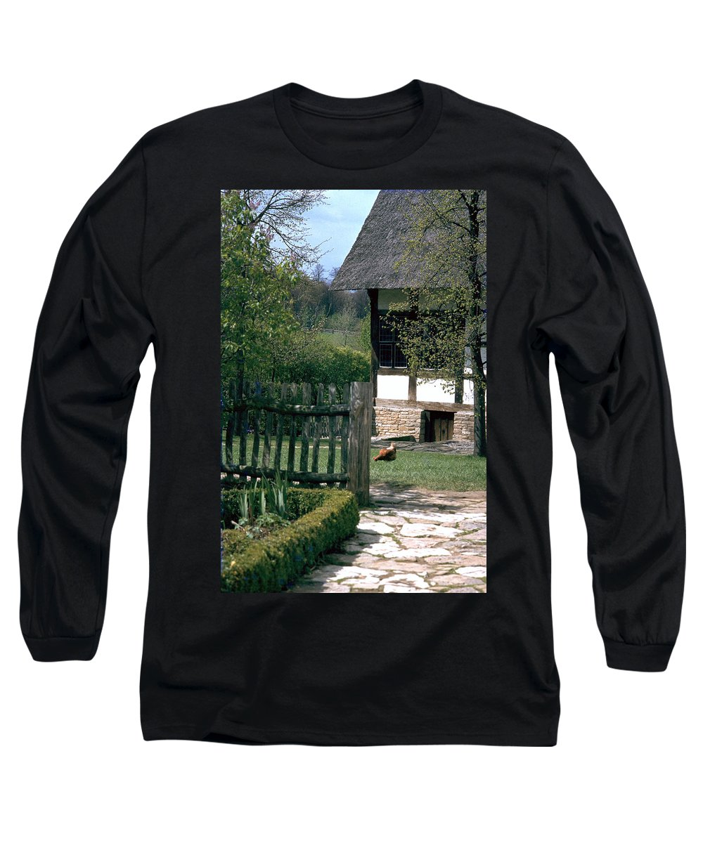 German Long Sleeve T-Shirt featuring the photograph Farm by Flavia Westerwelle