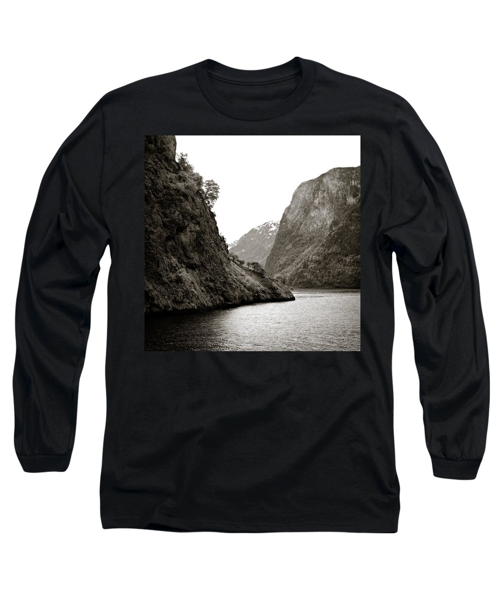 Norway Long Sleeve T-Shirt featuring the photograph Fjord Beauty by Dave Bowman