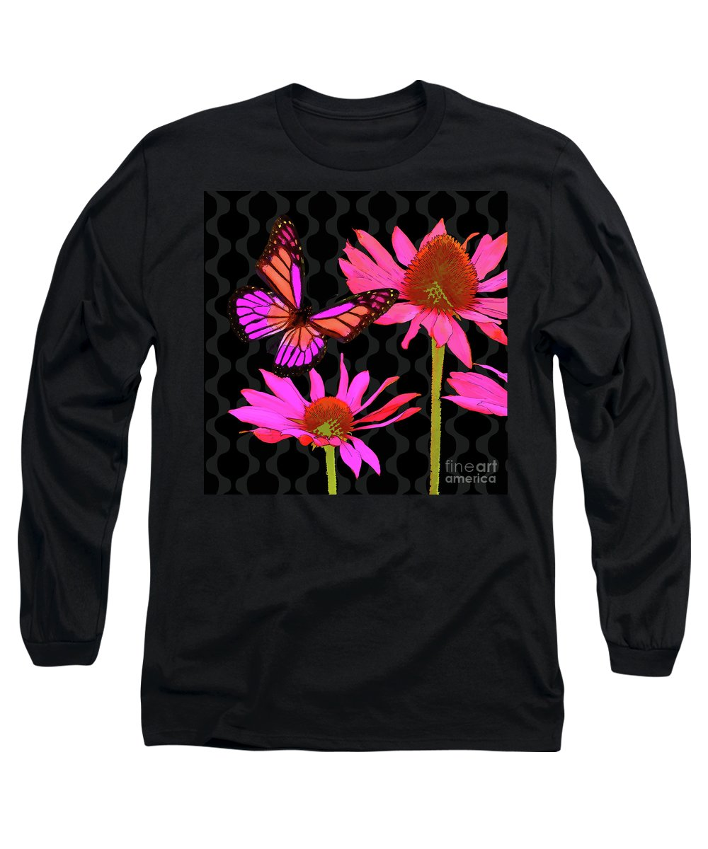 Osteospermum Long Sleeve T-Shirts