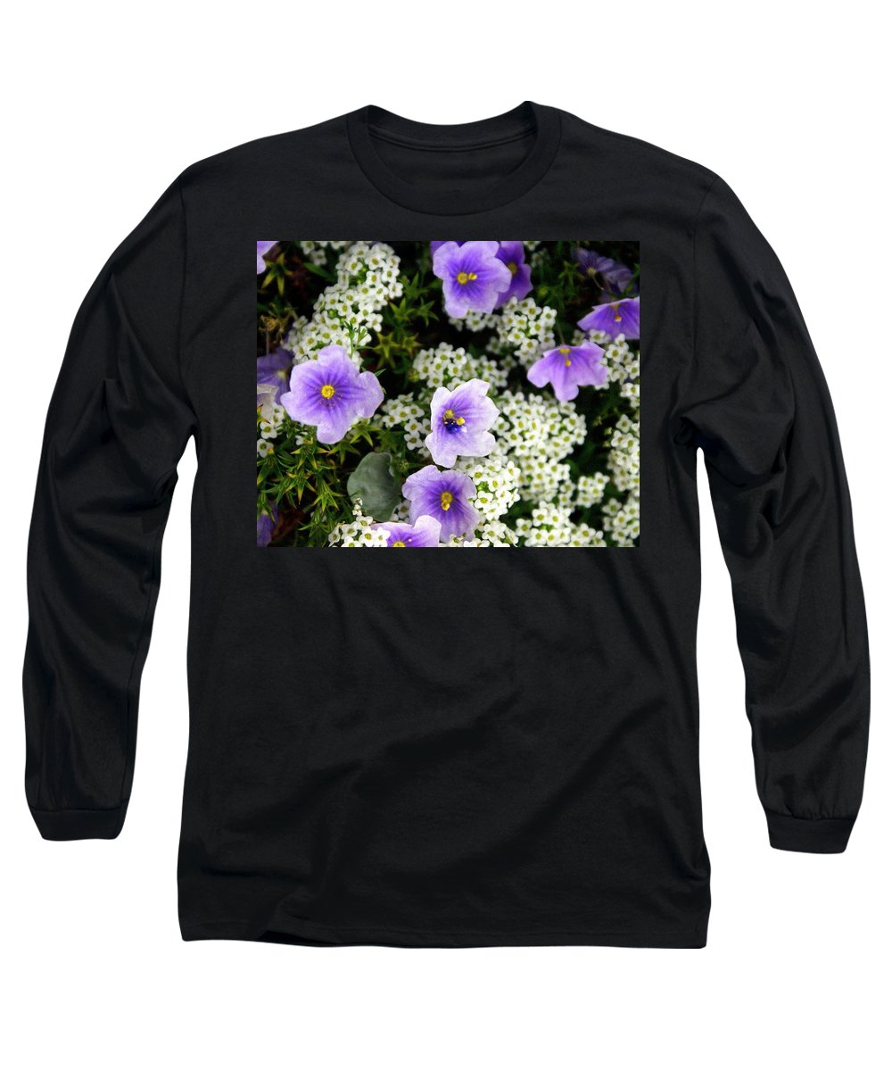 Flowers Long Sleeve T-Shirt featuring the photograph Flowers Etc by Marty Koch