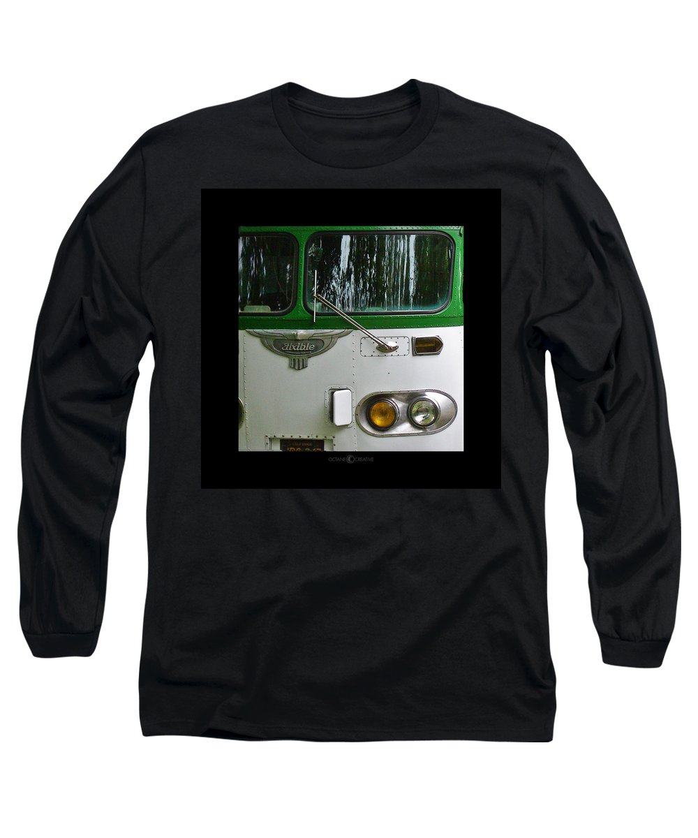 Flxible Long Sleeve T-Shirt featuring the photograph Flxible by Tim Nyberg