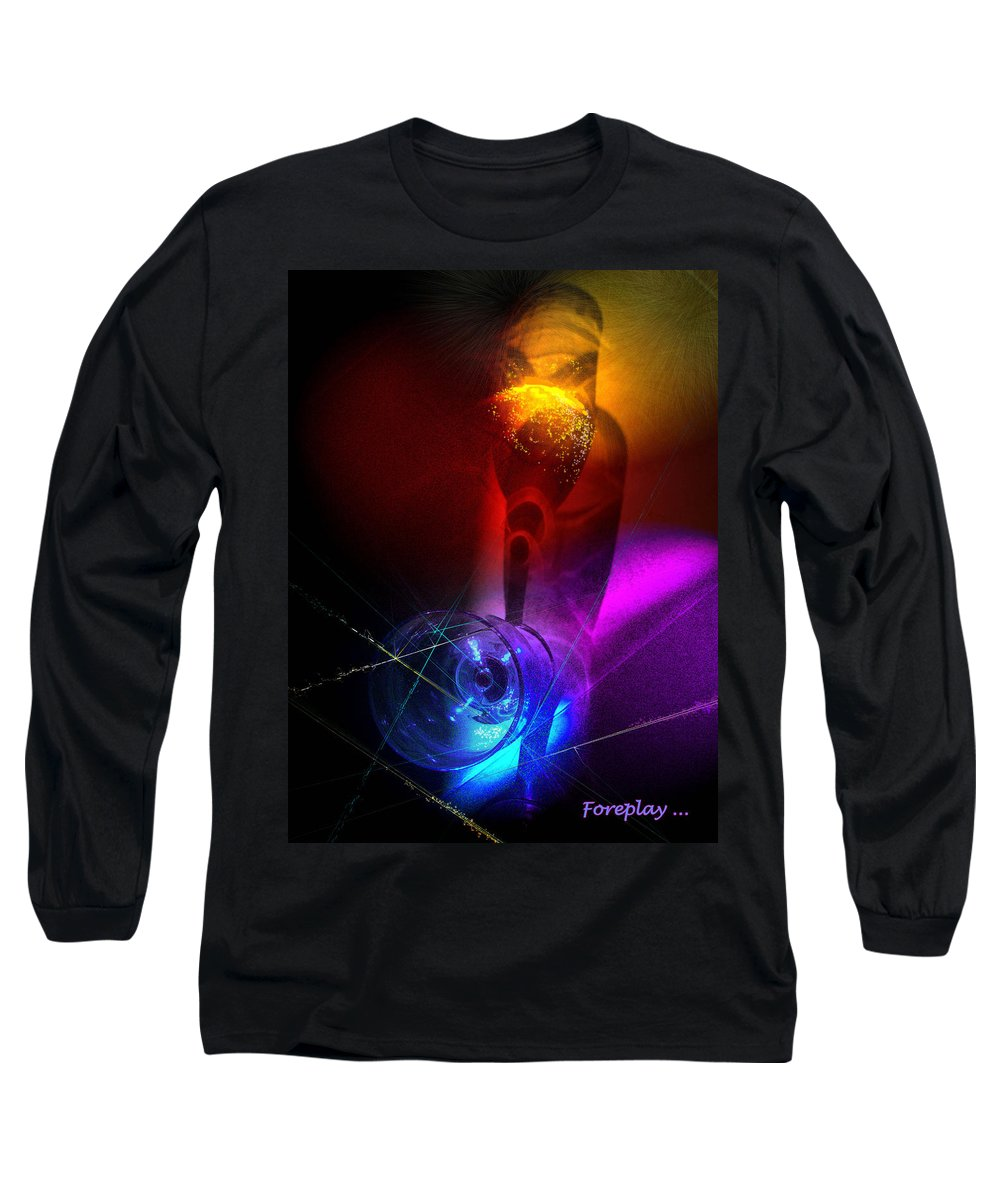 Fantasy Long Sleeve T-Shirt featuring the photograph Foreplay by Miki De Goodaboom