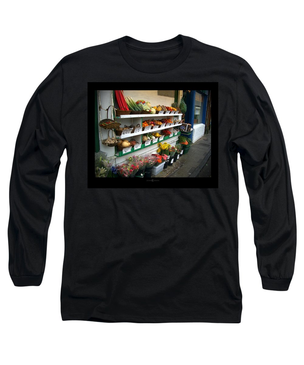 Shaftesbury Long Sleeve T-Shirt featuring the photograph Fresh Produce by Tim Nyberg