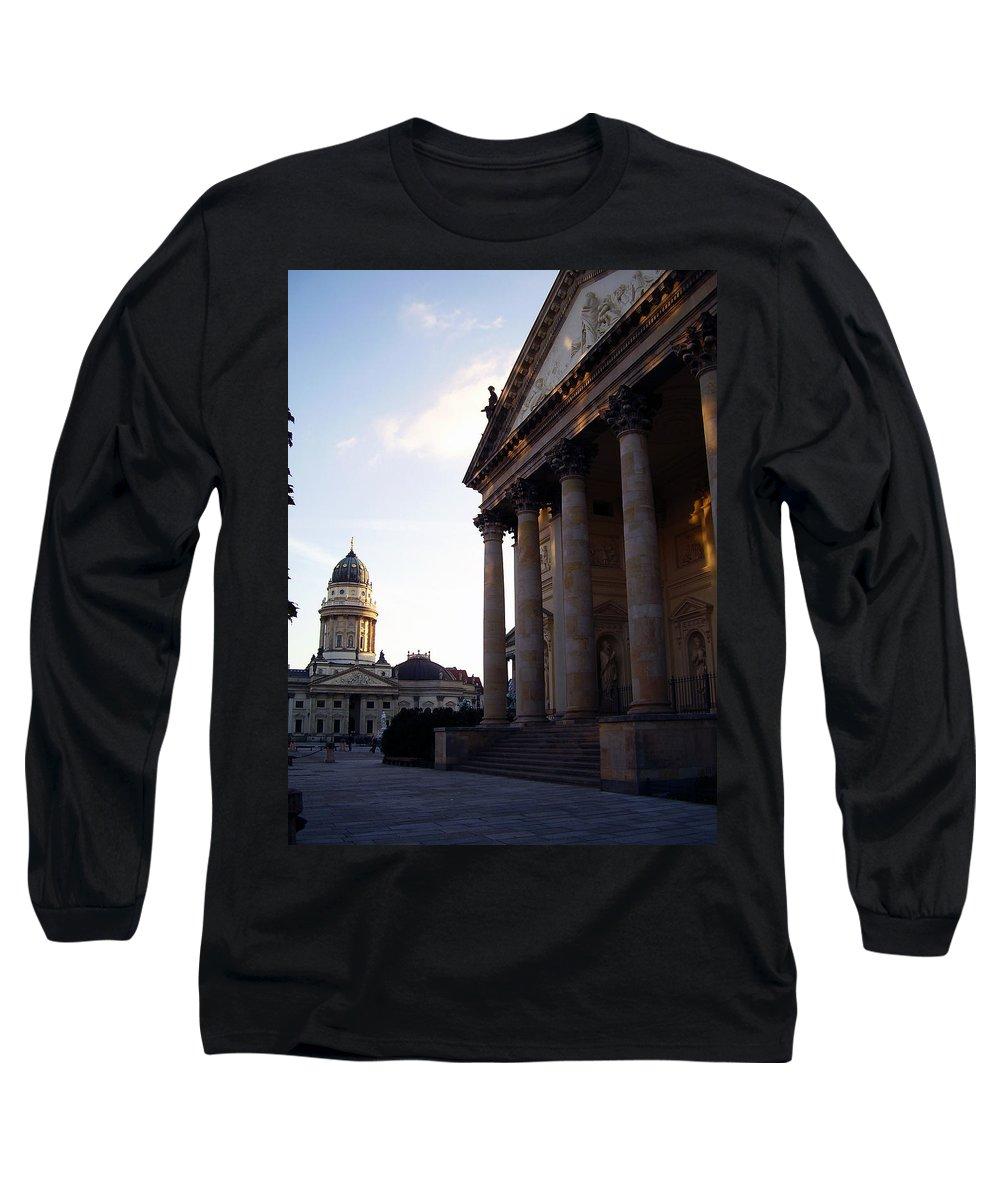 Gendarmenmarkt Long Sleeve T-Shirt featuring the photograph Gendarmenmarkt by Flavia Westerwelle