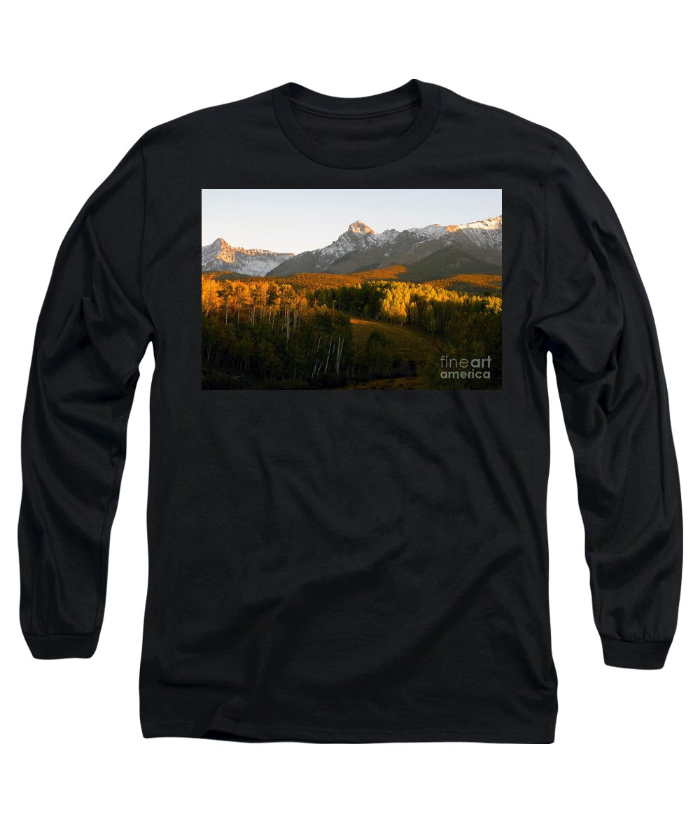 Landscape Long Sleeve T-Shirt featuring the photograph God's Country by David Lee Thompson