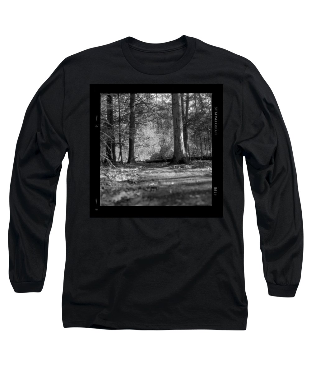 Trees Long Sleeve T-Shirt featuring the photograph Ground Floor by Jean Macaluso